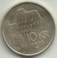 10 Krone 1995 Noruega - Norvège