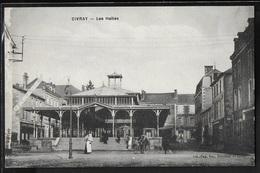 CPA 86 - Civray, Les Halles - Civray