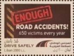 Lebanon NEW 2018 MNH Stamp, Road Safety Accidents - Lebanon