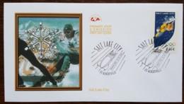 FDC 2002 - YT N°3460 - JEUX OLYMPIQUES DE SALT LAKE CITY - ALBERTVILLE - FDC