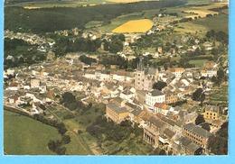 Walcourt-Vue Aérienne Sur La Ville-La Basilique Saint-Materne Et La Place-écrite En1979 - Walcourt