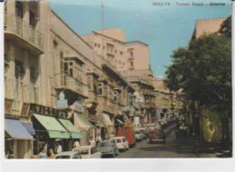 Postcard - Malta - Tower Road, Sliema - Posted  5th Sept 1983very Good - Cartoline