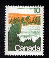 710913923 CANADAPOSTFRIS MINT NEVER HINGED POSTFRISCH EINWANDFREI  SCOTT 594 FOREST CENTRAL - 1952-.... Règne D'Elizabeth II