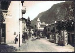 CARTOLINA - CV1021 TORRE DI S. MARIA (Sondrio SO) Valmalemco, Veduta Interno Paese, FG, Viaggiata 1955, - Sondrio