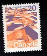 710915351 CANADAPOSTFRIS MINT NEVER HINGED POSTFRISCH EINWANDFREI  SCOTT 596 GRAIN FIELDS PRAIRIE - 1952-.... Règne D'Elizabeth II