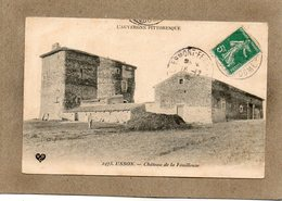 CPA - USSON (63) - Aspect De La Ferme Du Château De La Fouillouse En 1909 - Francia
