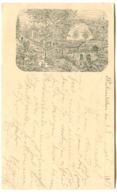1885 PIONERKARTE Pioneer Postcard Prebischtor Pravčická Brána Nach Schweden Poststempel Herrnskretschen 26.7.1885 - República Checa