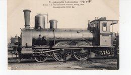 LES LOCOMOTIVES  (Allemagne)  2/3 Gekuppelte Lokomotive. - Trains
