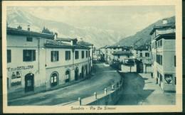 CARTOLINA - CV828 SONDRIO Via De Simoni, FP, Viaggiata 1935 Per Vertova (BG), Ottime Condizioni - Sondrio