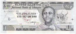 Ethiopia - Pick 46d - 1 Birr 2006 - Unc - Ethiopia