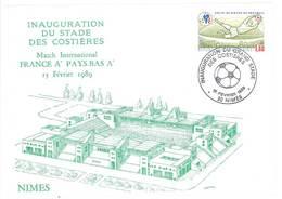 Cp Nîmes - Inauguration Du Stade Des Costières, Match Amical France - Pays-Bas     (PHIL) - Nîmes
