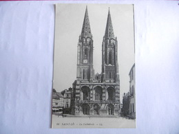 (50)-CPA-(MANCHE)-ST LO-LA CATHEDRALE - Saint Lo