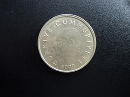 TURQUIE : 50 BIN LIRA   2000   Tranche A *   KM 1056    SUP - Turquie