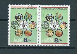 1984 Sao Tome En Principe Embleem FAO Used/gebruikt/oblitere - Sao Tome En Principe