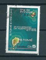 1978 Sao Tome En Principe 3 Years Independence Used/gebruikt/oblitere - Sao Tome En Principe