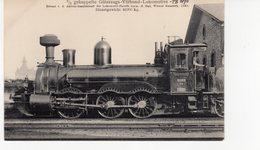 LES LOCOMOTIVES  (Allemagne) Machine N°1005  3/3  Gekuppelte Güterzugs-verbund-lokomotive. - Trains