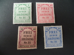 LOT TIMBRES SERVICE  NEUF  CHARNIERE - Allemagne
