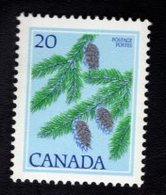 710936495 CANADAPOSTFRIS MINT NEVER HINGED POSTFRISCH EINWANDFREI  SCOTT 718 DOUGLAS FIRE FLORA - 1952-.... Règne D'Elizabeth II