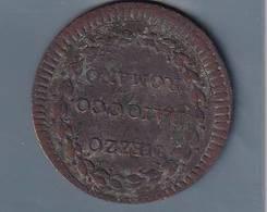 STATO PONTIFICIO  PIOVI  ANNO NONO 1784 MEZZO BAIOCCO - Vaticano