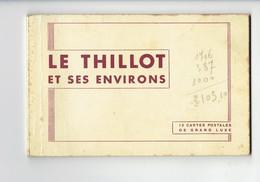 Carnet 8 Cpa - 88 LE THILLOT - Vue Générale Noiretang BUSSANG Col Tunnel étang De La Peau - Le Thillot
