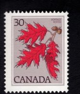 710938967 CANADAPOSTFRIS MINT NEVER HINGED POSTFRISCH EINWANDFREI  SCOTT 720 RED OAK FLORA - 1952-.... Règne D'Elizabeth II