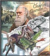Guinee Bissau  2012 Prehistory Prehistoric Charles DARWIN MNH - Vor- Und Frühgeschichte