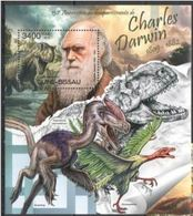 Guinee Bissau  2012 Prehistory Prehistoric Charles DARWIN MNH - Prehistory