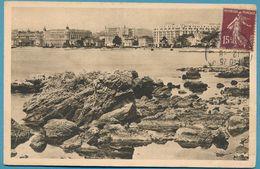 LA DOUCE FRANCE - COTE D'AZUR - CANNES - Les Hôtels Vus Du Palm Beach Casino - Carte Circulé 1930 - Cannes