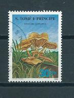 1986 Sao Tome En Principe Pilze Used/gebruikt/oblitere - Sao Tome En Principe