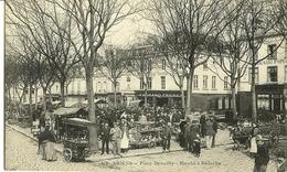 AMIENS Place Dewailly Marché à Rèderies Ed. Caron 510 - Amiens