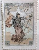 OTTOBRE 1911  ERINNOFILO CHIUDILETTERA ETICHETTA PUBBLICITARIA - Francobolli