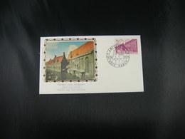"BELG.1975 1769 FDC Soie/zijde NAMUR :  ""Patrimoine Architectural- Bouwkundig Erfgoed"" - FDC"