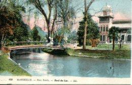 CPA - MARSEILLE - PARC BORELY - BORD DU LAC - Parcs Et Jardins