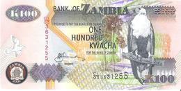 Zambia - Pick 38f - 100 Kwacha 2006 - Unc - Zambie