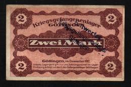 GEFANGENENLAGER GELD LAGERGELD BILLET CAMP GOTTINGEN PRISONNIER ALLEMAGNE KG POW GUERRE 1914 1918 - Altri