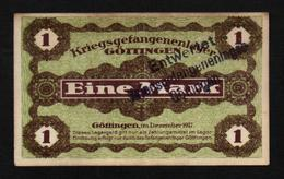 GEFANGENENLAGER GELD LAGERGELD BILLET CAMP GOTTINGEN PRISONNIER ALLEMAGNE KG POW GUERRE 1914 1918 - Other