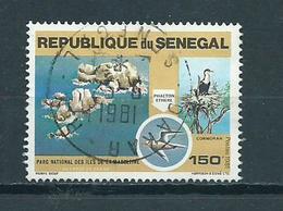 1981 Senegal National Park Used/gebruikt/oblitere - Senegal (1960-...)