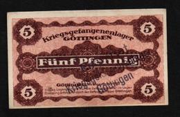 GEFANGENENLAGER GELD LAGERGELD BILLET CAMP GOTTINGEN PRISONNIER ALLEMAGNE KG POW GUERRE 1914 1918 - [10] Military Banknotes Issues