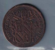 STATO PONTIFICIO  1850   UN BAIOCCO PIO IX - Vaticano