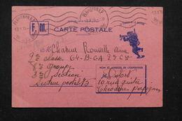 FRANCE - Carte FM De Perpignan Pour Un Soldat  Au Secteur Postal 75 - L 21817 - Marcofilie (Brieven)