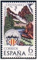 326 Espagne 1976 Mountagne Catalogne Catalunya Mountains MNH ** Neuf SC (ESP-92) - Escalada