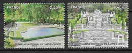 France 2012 N° 4663/4664 Neufs Jardins De France St Cloud Sous Faciale - Neufs