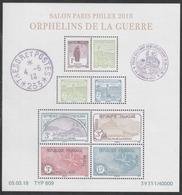 Année 2018 - Feuillet N° F5226 - Salon Paris-Philex 2018 : Orphelins De La Guerre - Sheetlets