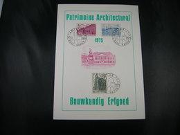 "BELG.1975 1769 & 1770 & 1771  FDC FILA CARD NAMUR :  ""Patrimoine Architectural- Bouwkundig Erfgoed"" - FDC"