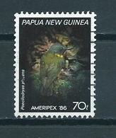 1986 Papua New Guinea Bird,oiseaux,Ameripex Used/gebruikt/oblitere - Papoea-Nieuw-Guinea