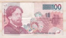 Belgique. 100 Francs 1995, Type James Ensor - [ 2] 1831-... : Regno Del Belgio