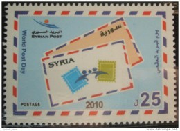 Syria 2010 MNH - World Post Day - Stamp On Stamp - Syrië