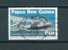 1984 Papua New Guinea Airplane Used/gebruikt/oblitere - Papoea-Nieuw-Guinea