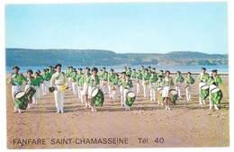 Carte Verso Vierge, Saint Chamas - Fanfare Saint-Chamasseine - France