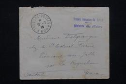"""FRANCE - Enveloppe En FM Des Troupes Française Au Levant En 1919 , Cachet """" Trésor Et Postes 600 """" - L 21820 - Marcophilie (Lettres)"""